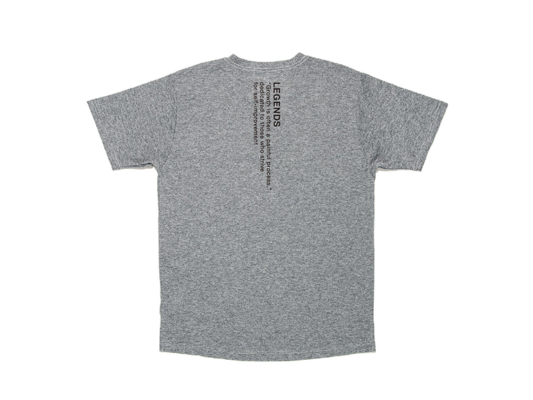 DRY LETTERED PRINT S/S TEE