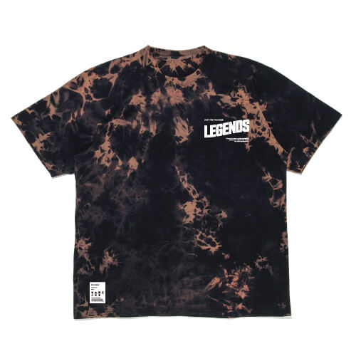 LEGENDS COTTON BIG TIE DYE S/S TEE
