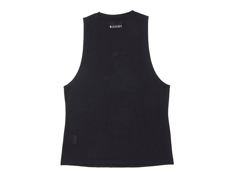 DRY LOGO PRINT WIDE ARMHOLE TANK TOP