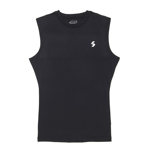 JERSEY STRETCH SLEEVELESS TEE