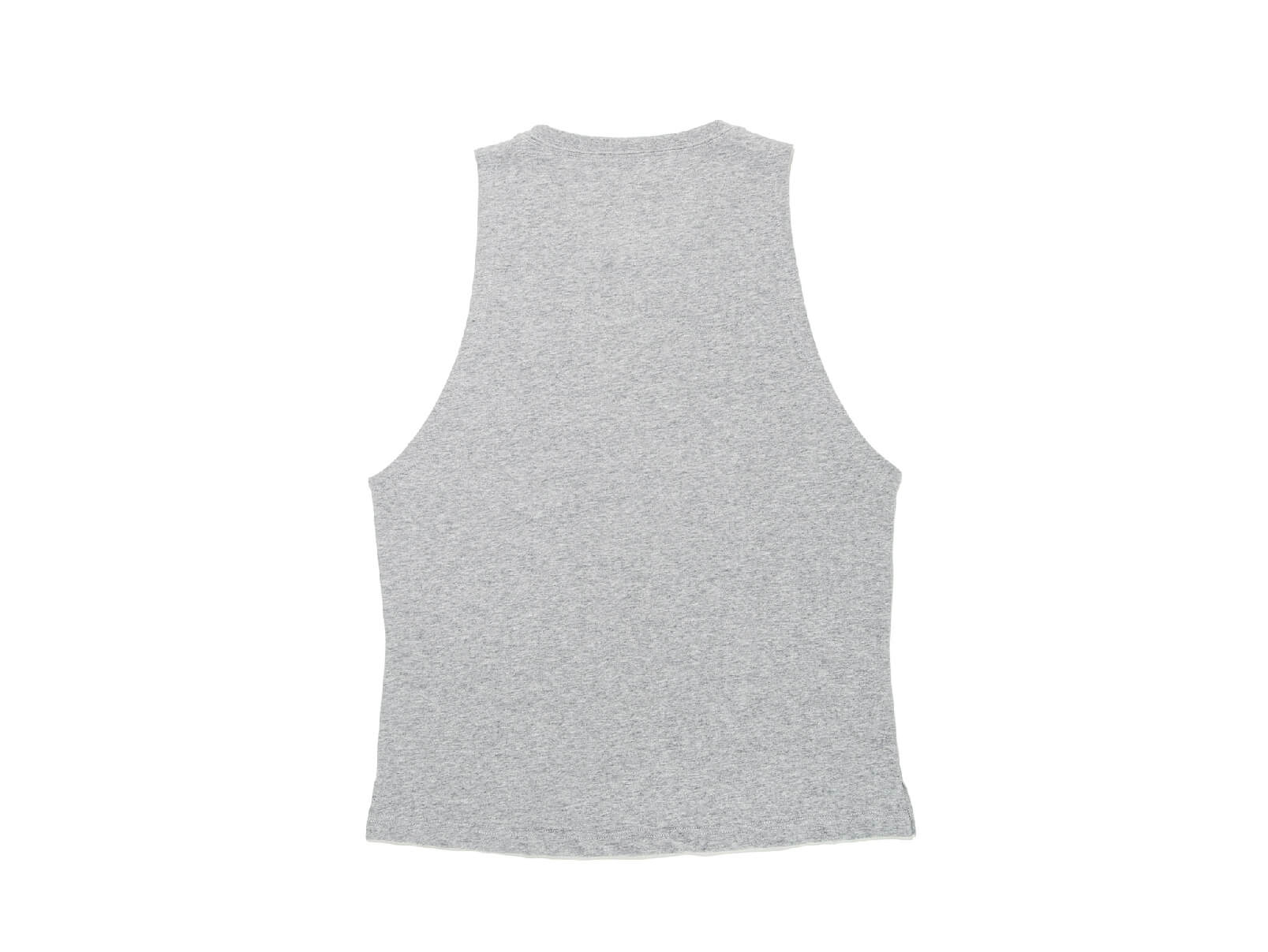 COTTON ONE POINT LOGO WIDE ARMHOLE TANK TOP