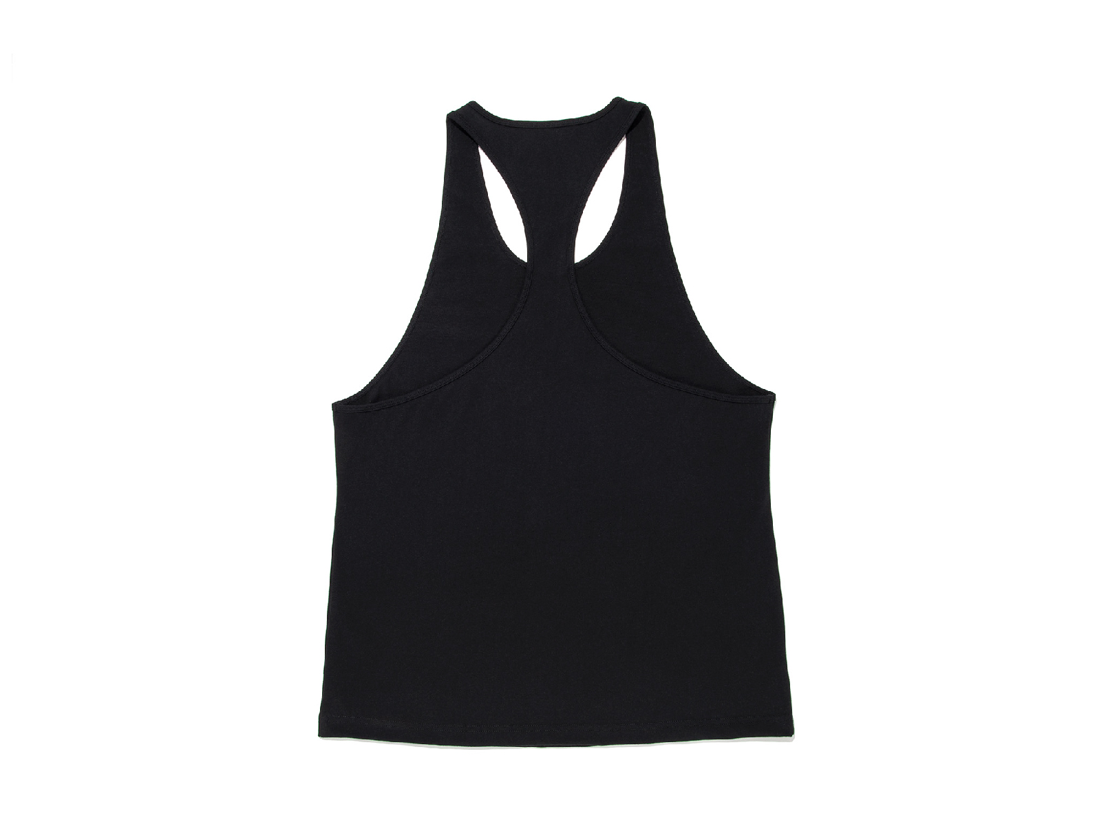COTTON ONE POINT LOGO STRINGER