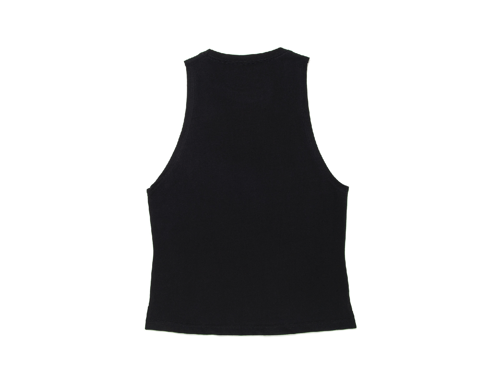 COTTON DRIPPING LOGO WIDE ARMHOLE TANK TOP