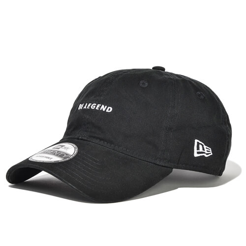 920CS BE LEGEND NEW ERA CAP【BLACK】FREE