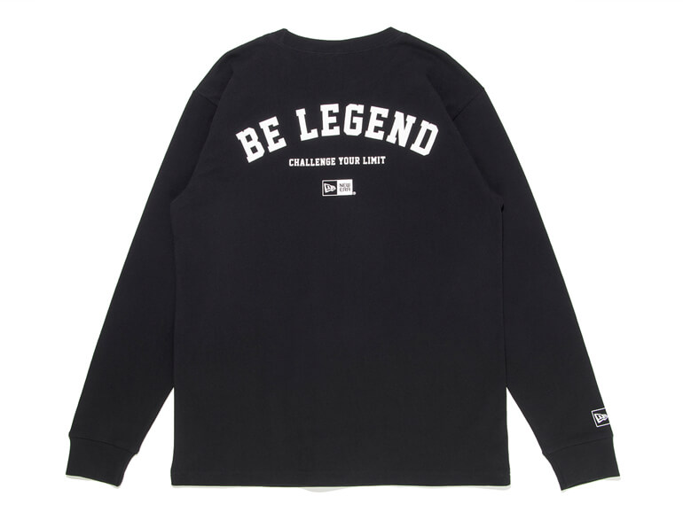 BE LEGEND NEW ERA CYL L/S TEE