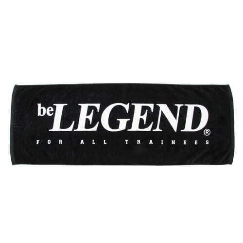 LEGENDS BIG LOGO SPORTS TOWEL【BLACK】FREE