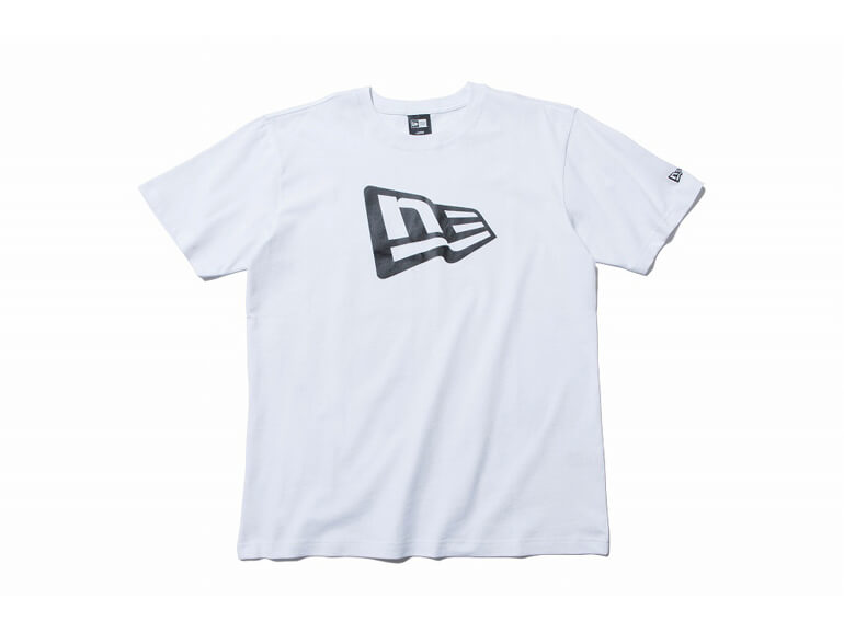 NEW ERA COTTON TEE FLAG