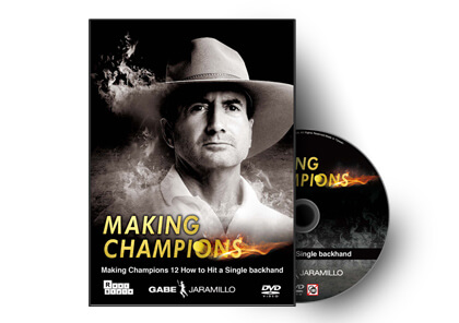 Making Champions 12 How to Hit a Single backhand