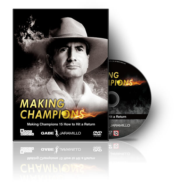 Making Champions 15 How to Hit a Return