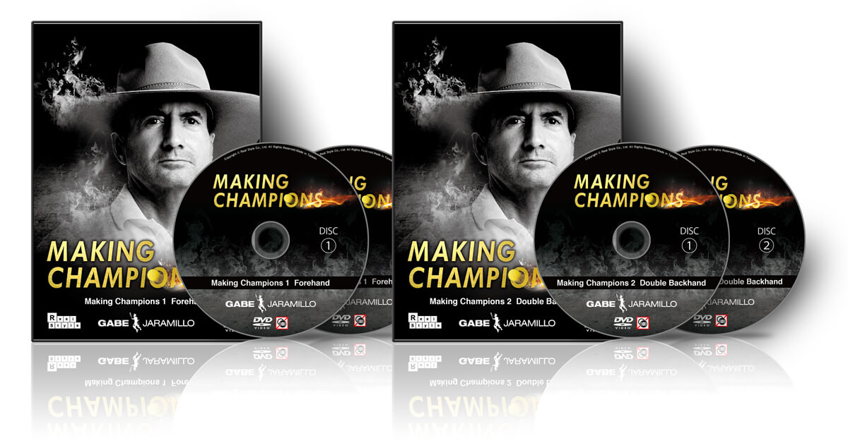 Making Champions 1 Forehand & 2 Backhand
