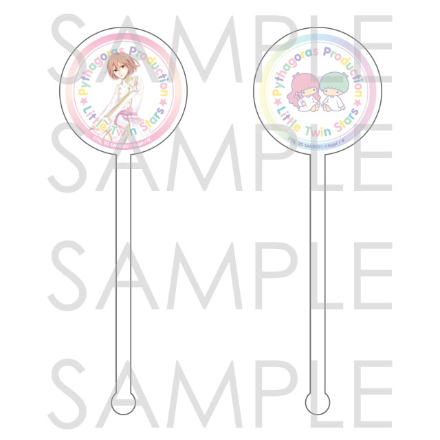 【10%OFF_SPRING_SALE_2021】ピタゴラスプロダクション×Little Twin Stars Twinkle Stage アクリルマドラー テルマ