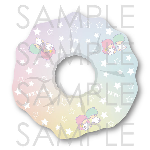 【10%OFF_SPRING_SALE_2021】ピタゴラスプロダクション×Little Twin Stars Twinkle Stage シュシュ