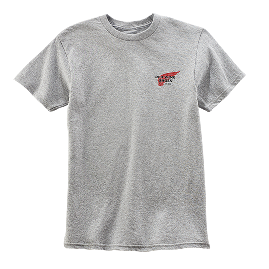 Archive Logo T-shirt / Light Gray