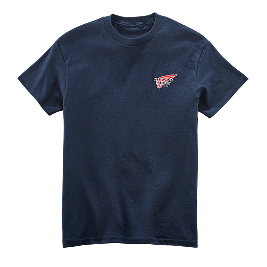 Archive Logo T-shirt / Navy