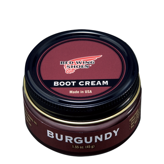 Boot Cream / Burgundy