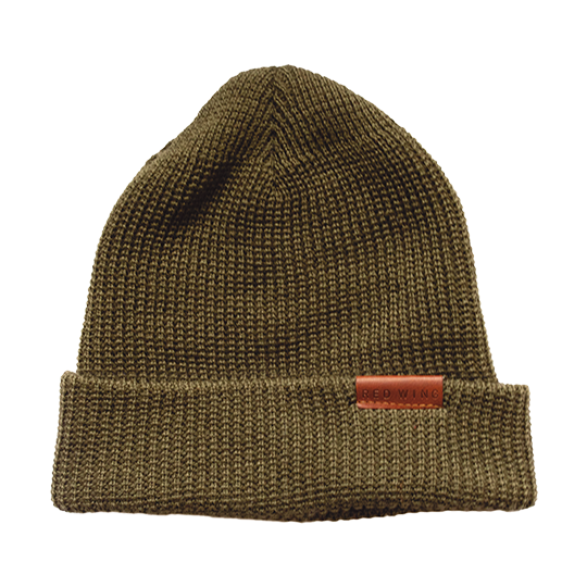 Merino Wool Knit Hat / Olive