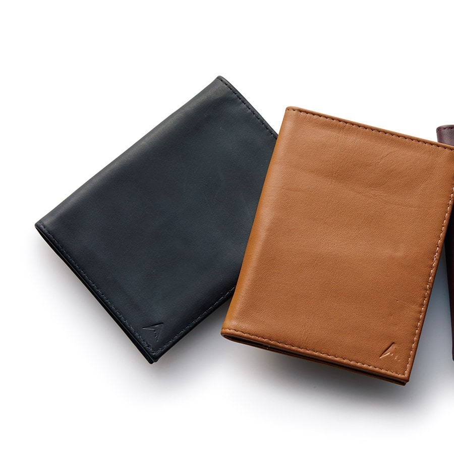 MULE Leather commuter wallet