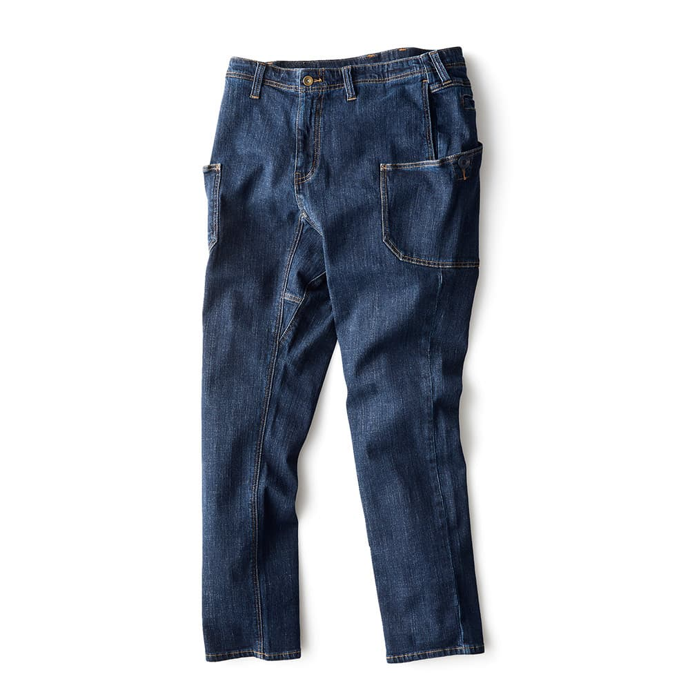 DENIM WORK PANTS INDIGO