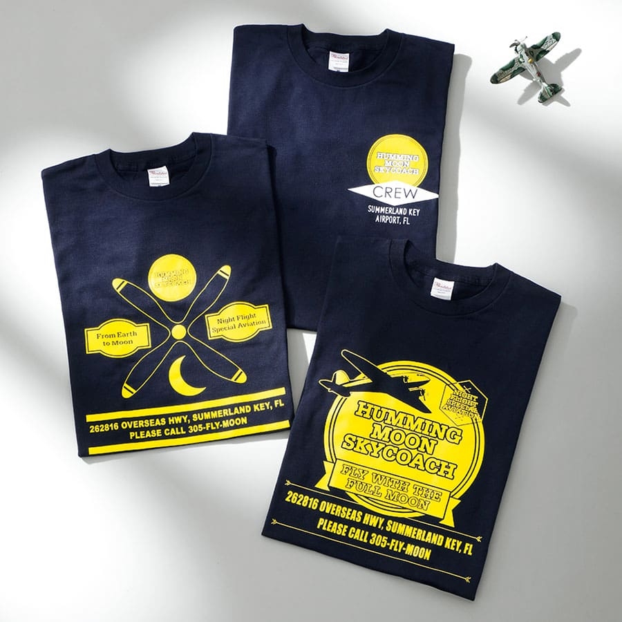 HUMMING MOON SKYCOACHTシャツ