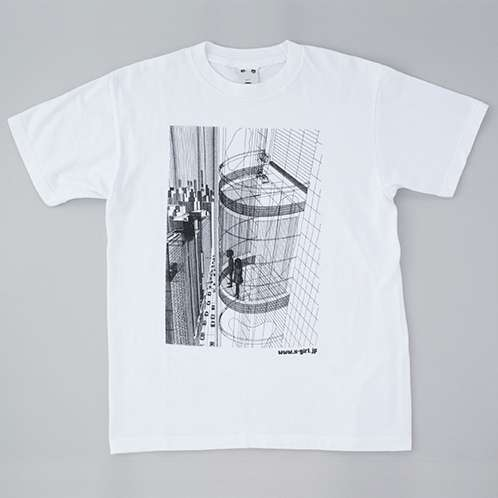 「UMEZZ CITY MENS TEE」ホワイト