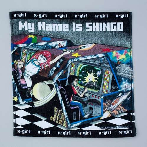 「MY NAME IS SHINGO」HAND TOWL