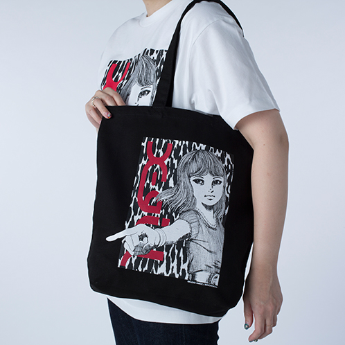 X-girl×KAZUO UMEZZ 「おろち」 TOTE BAG