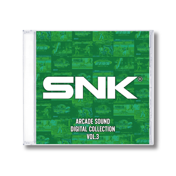 SNK ARCADE SOUND DIGITAL COLLECTION Vol.3 限定特典付