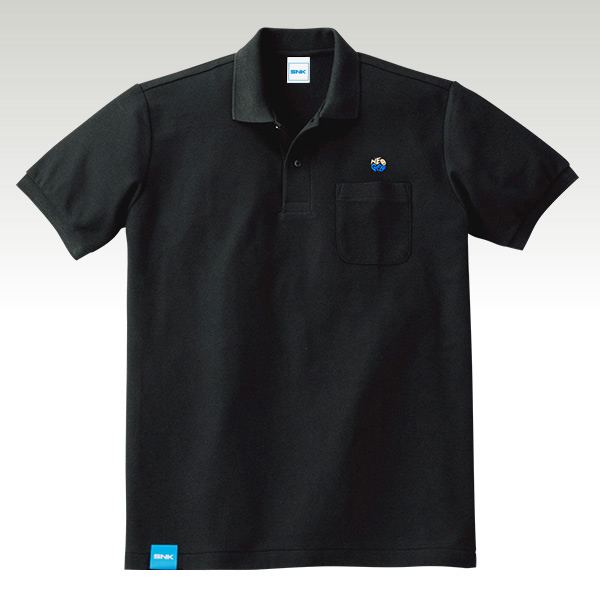 NEOGEO LABEL H GRADE POLO′s BLACK