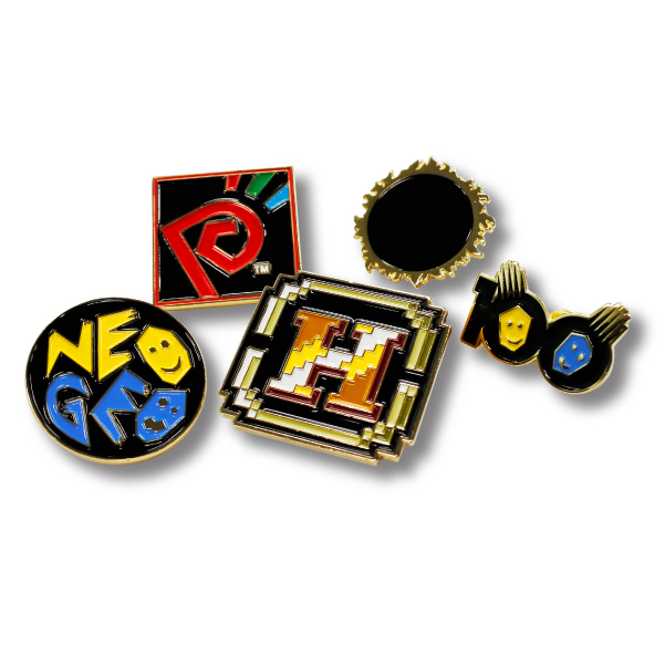 SNK PINS COLLECTION NEOGEO