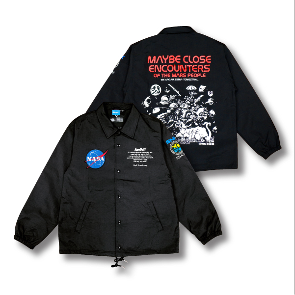 SNK×NASA Original Coaches Jacket