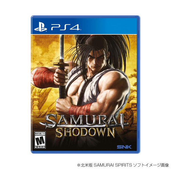 北米版 SAMURAI SPIRITS PS4 LIMITED PACK 覇王丸 EVO2019限定ver