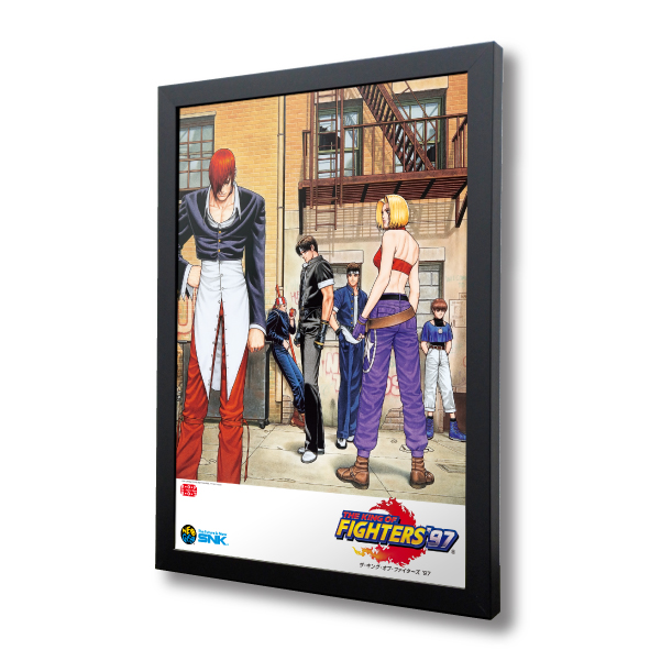 "Reprinting Acrylic Frame Panel ""THE KING OF FIGHTERS '97"""