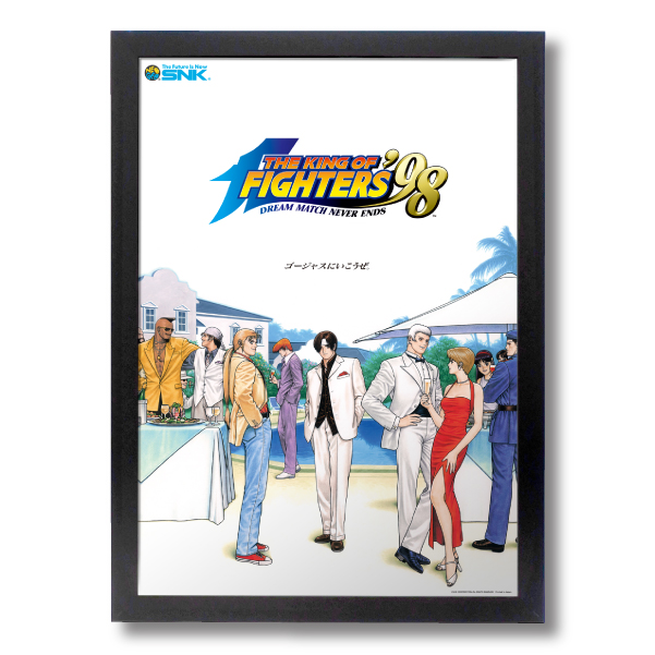 "Reprinting Acrylic Frame Panel ""THE KING OF FIGHTERS '98"""