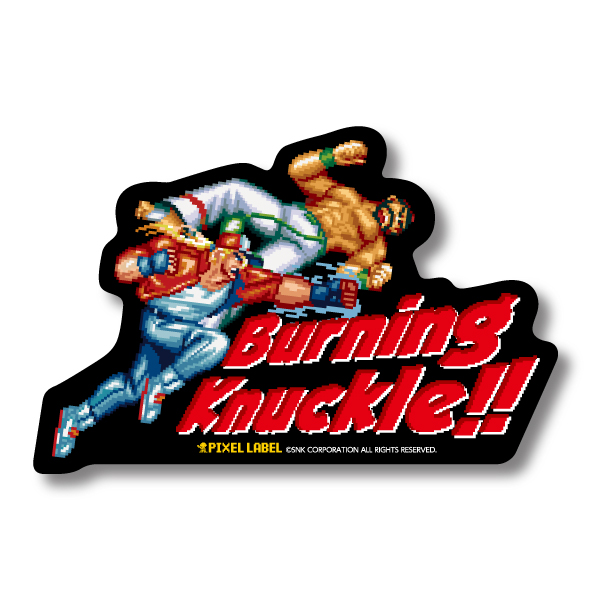 PIXEL LABEL Vol.2  Sticker's B-Knuckle