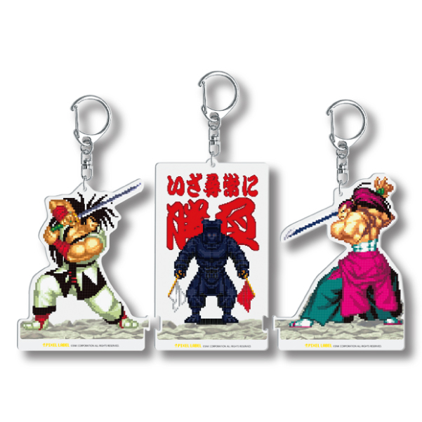 PIXEL LABEL Vol.2  アクキー's 3P Samurai Fights