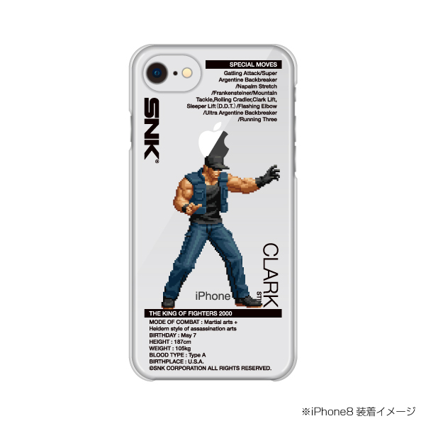 Select iPhone cover KOF2000 CLARK