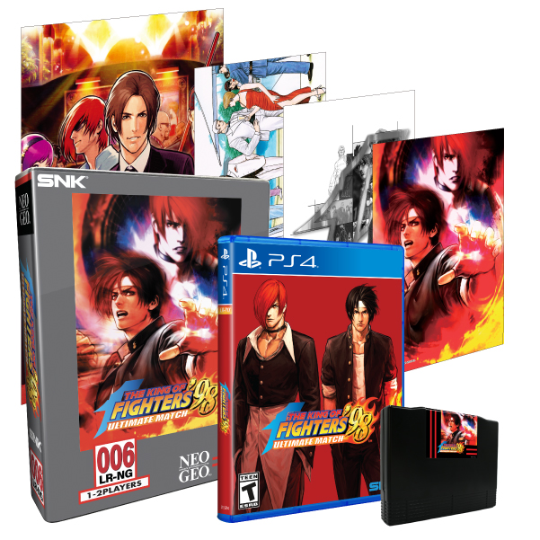 The King of Fighters '98 Ultimate Match Collector's Edition (PS4)