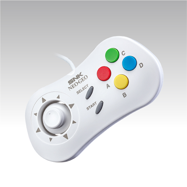 NEOGEO mini PAD(White)※11月上旬出荷分
