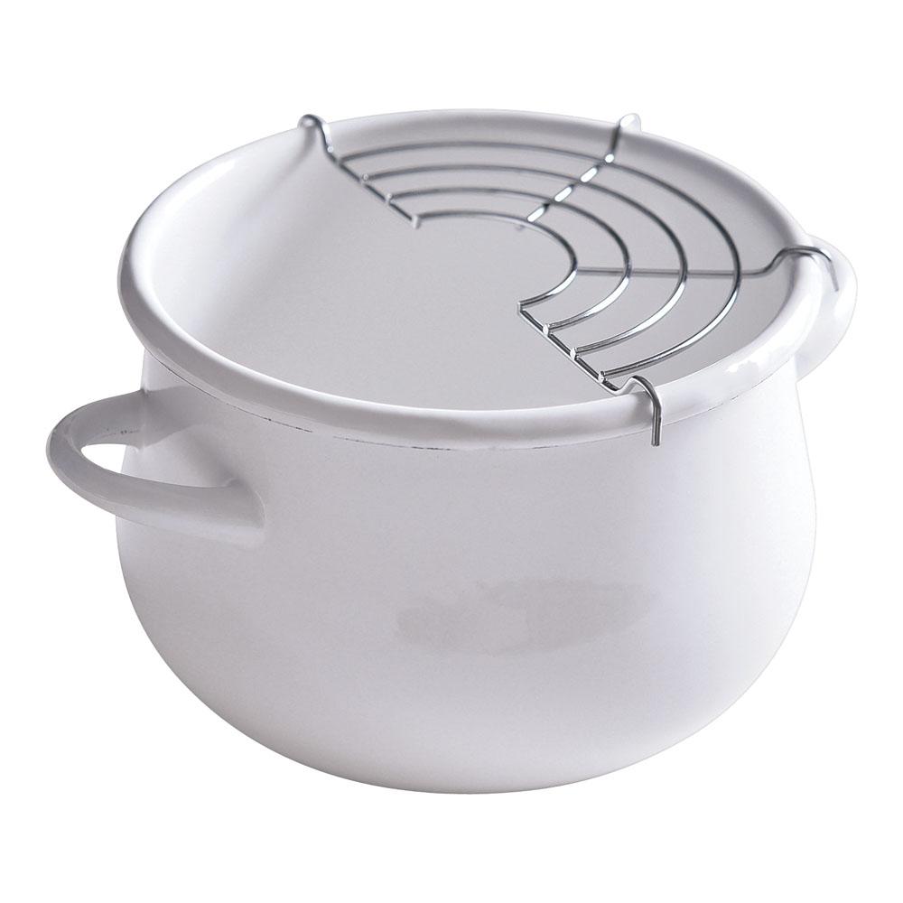 ホーロー 鍋 揚げ物