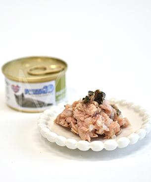 【26位】フォルツァ10 プレミアム ナチュラルグルメ缶 マグロと海藻 かつお節 75g
