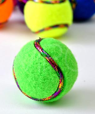 パーティボール6Pカラフルテニス 【数量限定品】