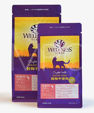 ウェルネス 穀物不使用 成猫用(1歳以上) サーモン