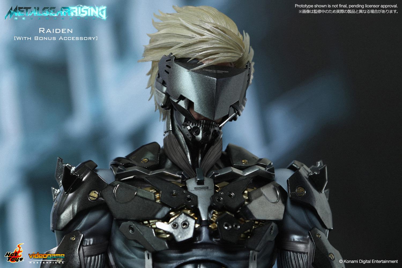 ビデオゲーム マスターピース メタルギア ライジング リベンジェンス 1 6スケールフィギュア 雷電 ボーナスアクセサリー付き パッケージダメージ品 トイサピエンス
