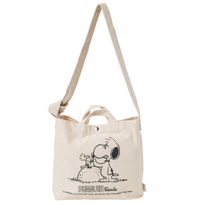 PEANUTS×ROOTOTE トール 2WAYバッグ (Fight)