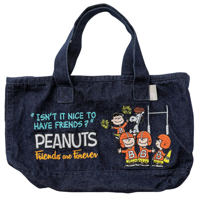 PEANUTS×ROOTOTE デリバッグ 刺繍 (Friends)