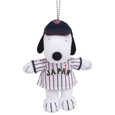 SNOOPY×野球日本代表 マスコット