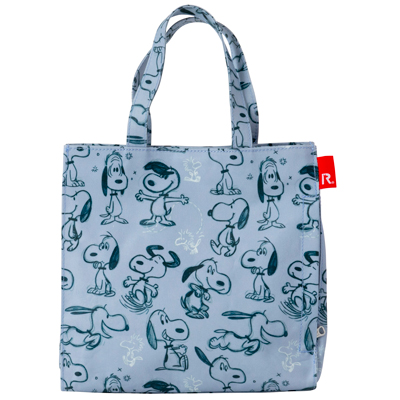 PEANUTS×ROOTOTE ラミネート スクエアバッグ (Sketch)