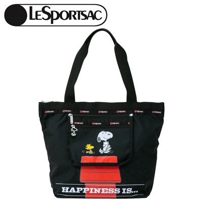 PEANUTS×LeSportsac DELUXE HAILEY TOTE ラブドバイユー