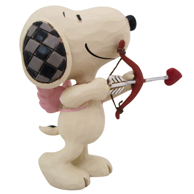 PEANUT PEANUT JIM SHORE ミニフィギュア Snoopy Cupid