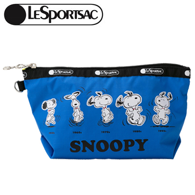PEANUTS×LeSportsac MEDIUM SLOAN COSMETIC スヌーピーズ ゼン アンド ナウ